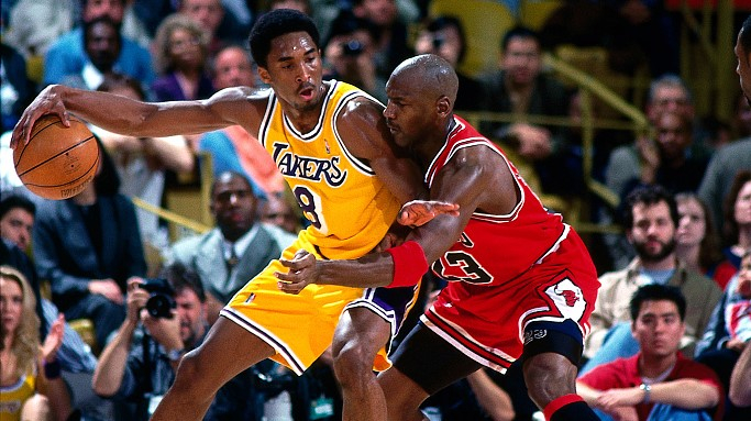 Mamba lives on - when Kobe Bryant met Michael Jordan