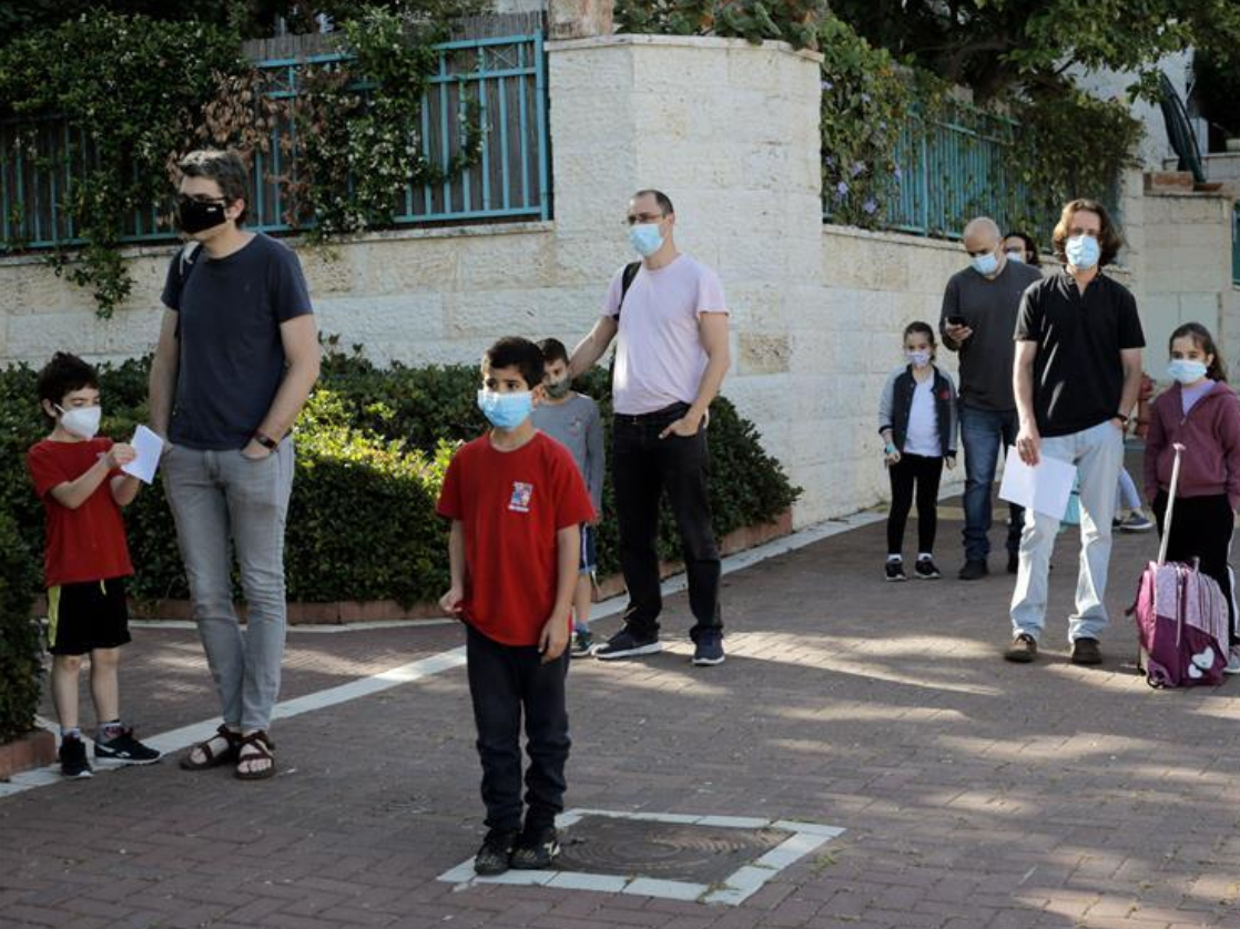 Some schools in Israel reopened amid COVID-19 pandemic