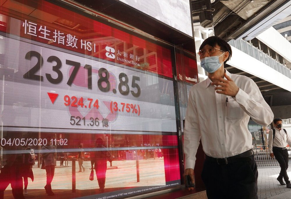 Equities tumble as Trump revives trade war fears