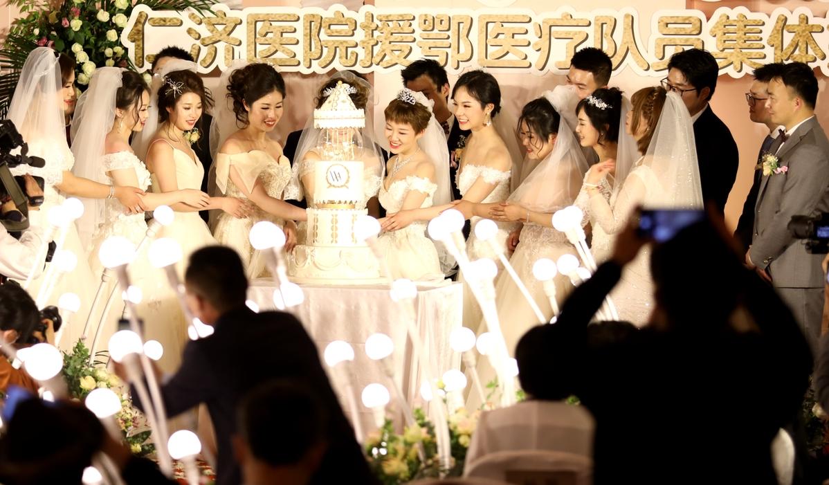 From nurses' whites to wedding veils