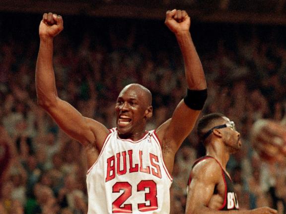 Michael Jordan's six NBA championships: 1992, breaking all doubts