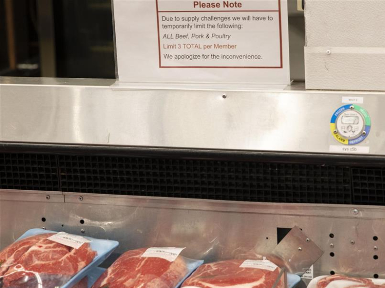 Limits put on meat purchase in San Francisco Bay Area