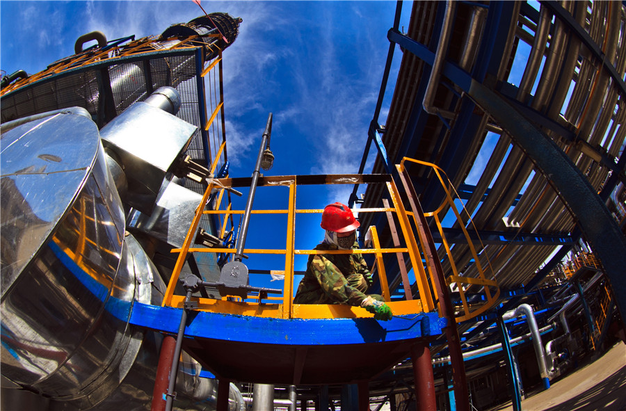 China's oil giant CNPC reports losses