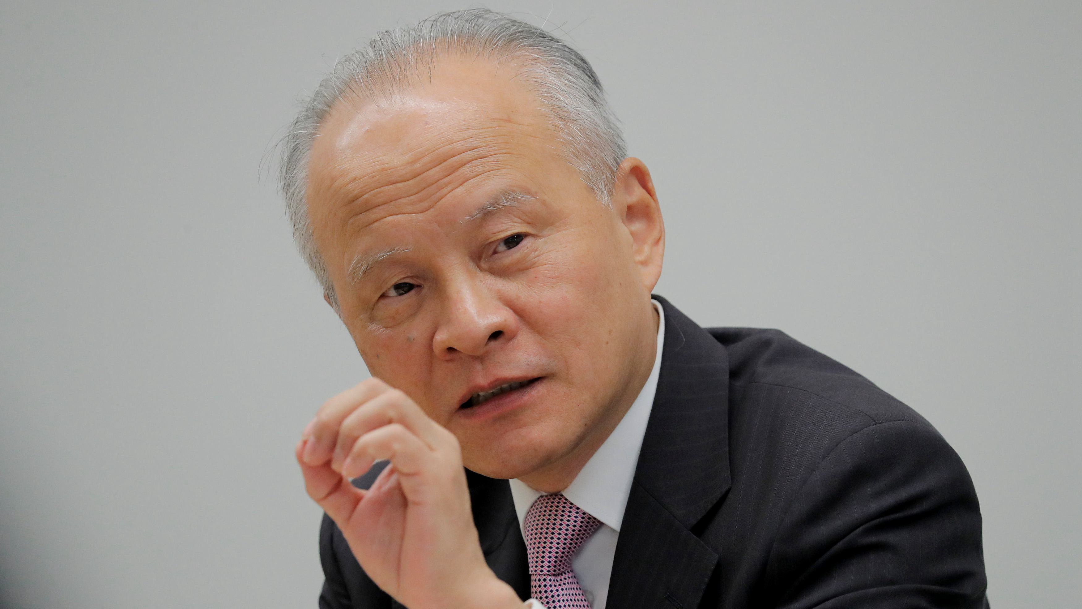 Chinese Ambassador Cui Tiankai calls for people to believe in science and facts