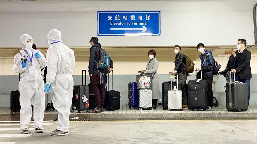 Chinese mainland reports 1 new imported COVID-19 cases