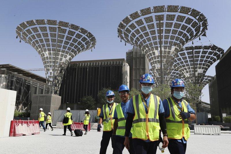 Dubai Expo 2020 world's fair postponed to October 1, 2021