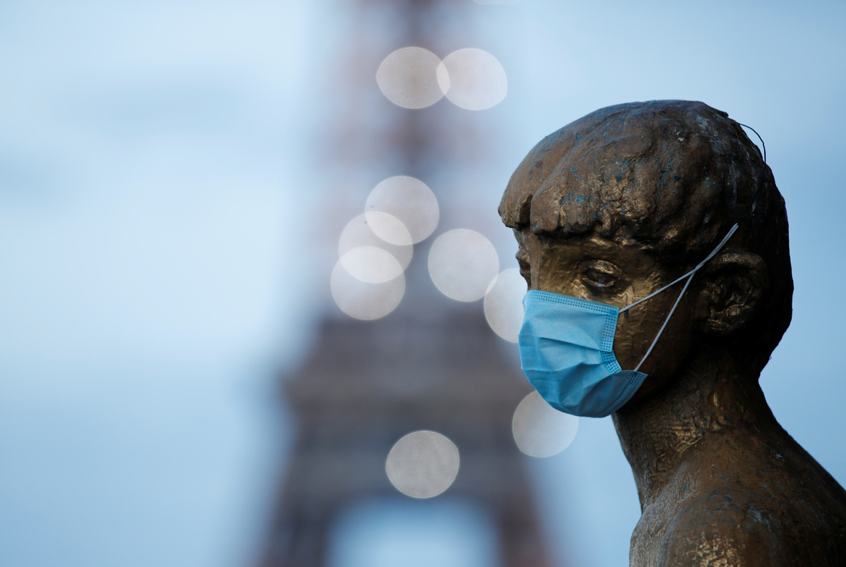 COVID-19 death toll tops 25,000 in France
