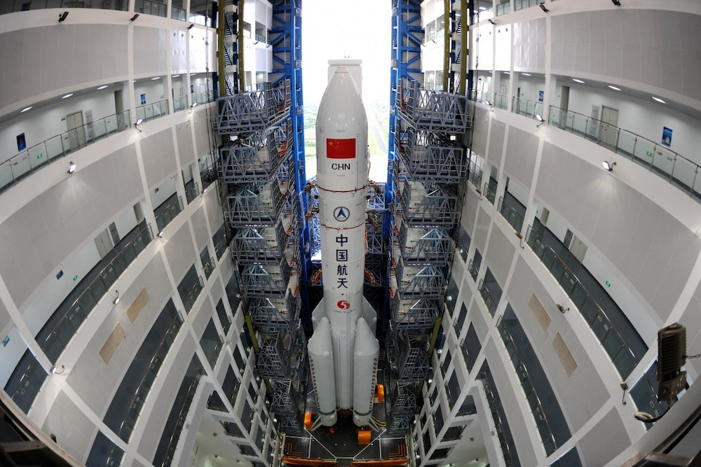 China to launch Long March-5B carrier rocket