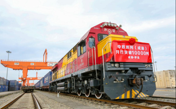 New China-Europe freight train service opens