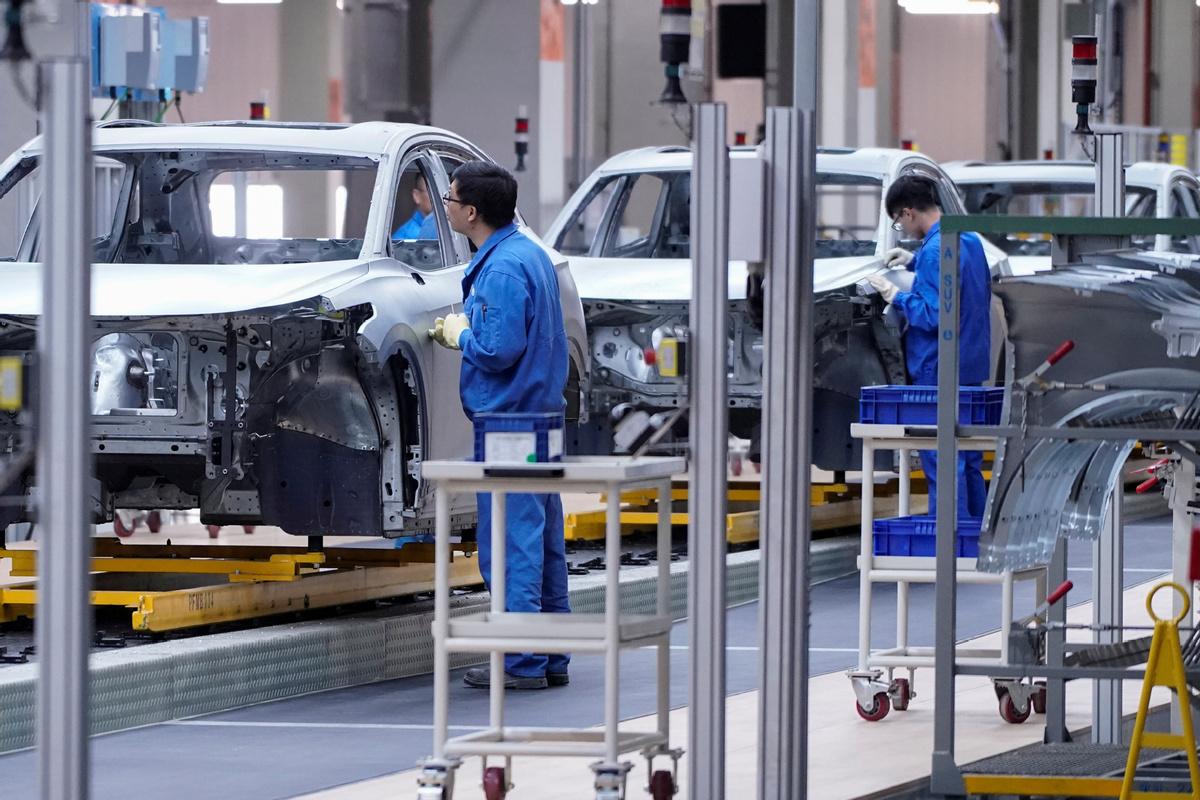 SAIC Motor sees sales boom during May Day holiday