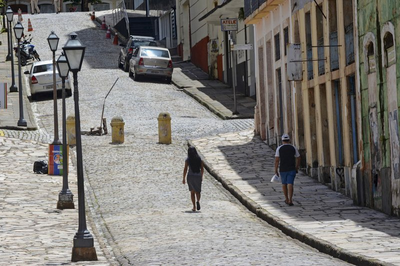 Northeastern Brazil city is nation's first to enter lockdown