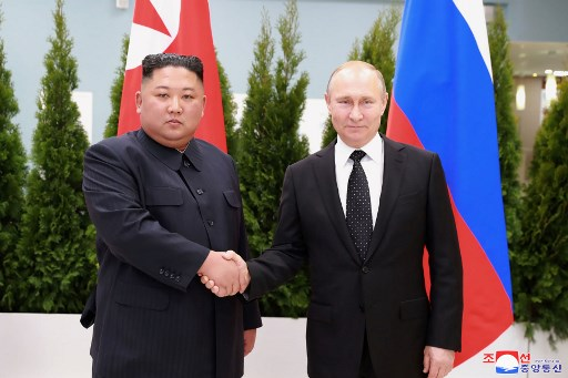 DPRK top leader receives commemorative medal from Putin