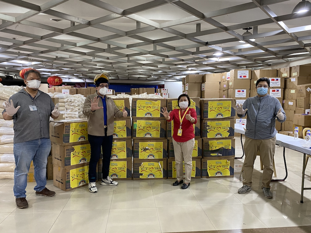 Chinese firm makes donation to help the Philippines' COVID-19 fight