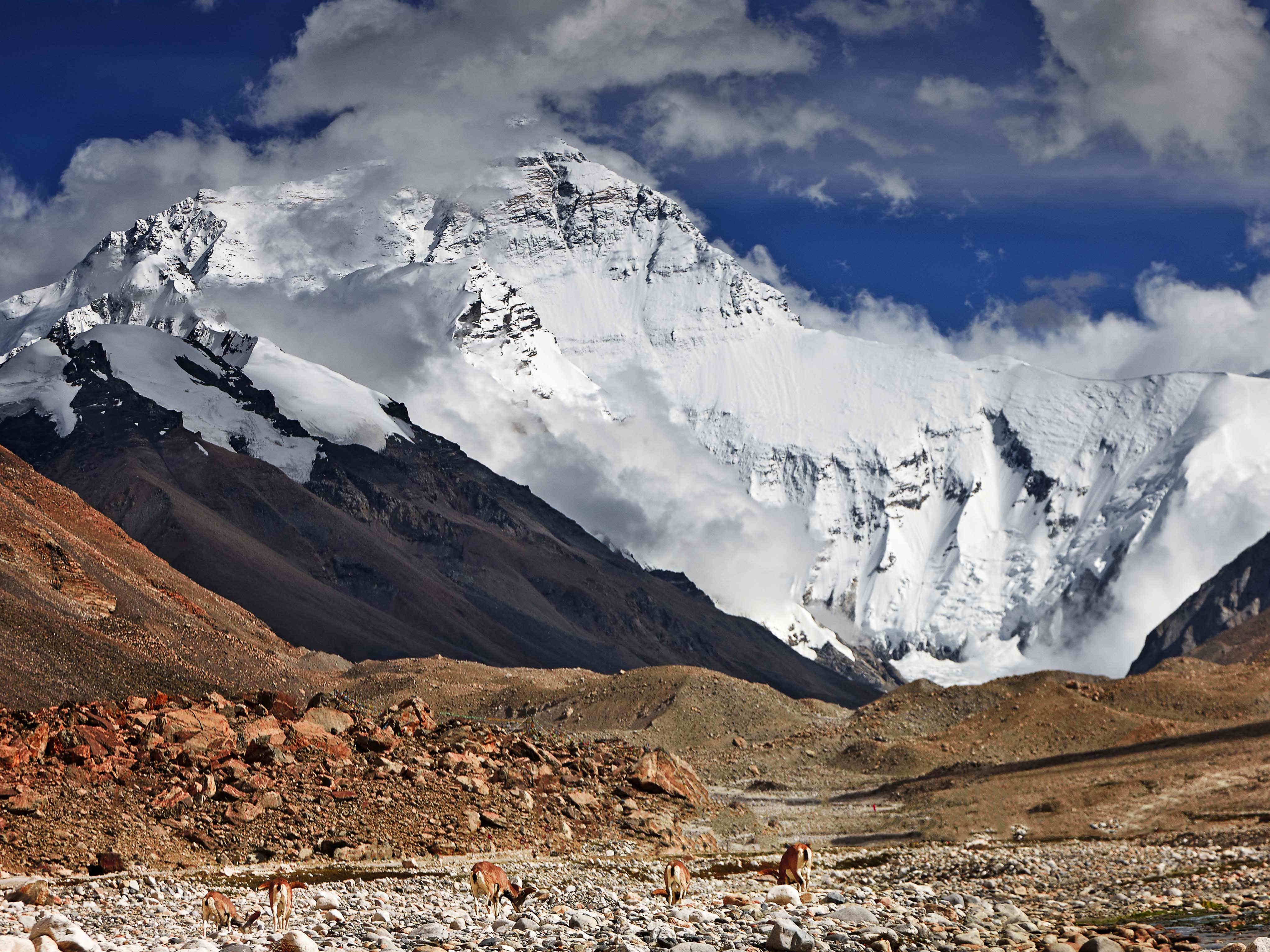 'Roof of the World': China conducts new research on Mount Qomolangma