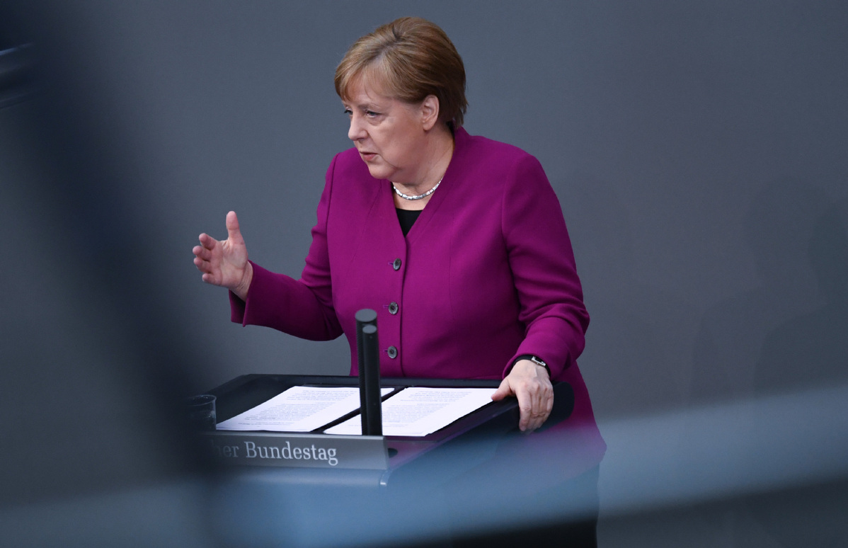 Merkel announces easing of COVID-19 restrictions in Germany