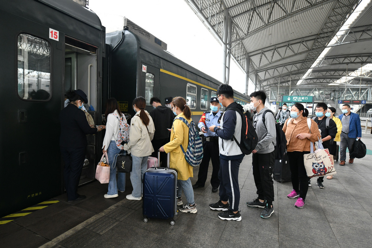 121m passenger trips seen during May Day holiday