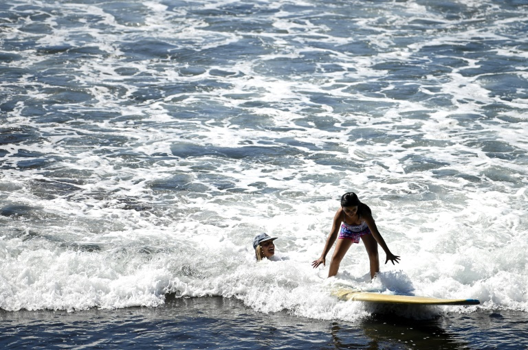 Surf's up for poor kids seeking a better future in El Salvador