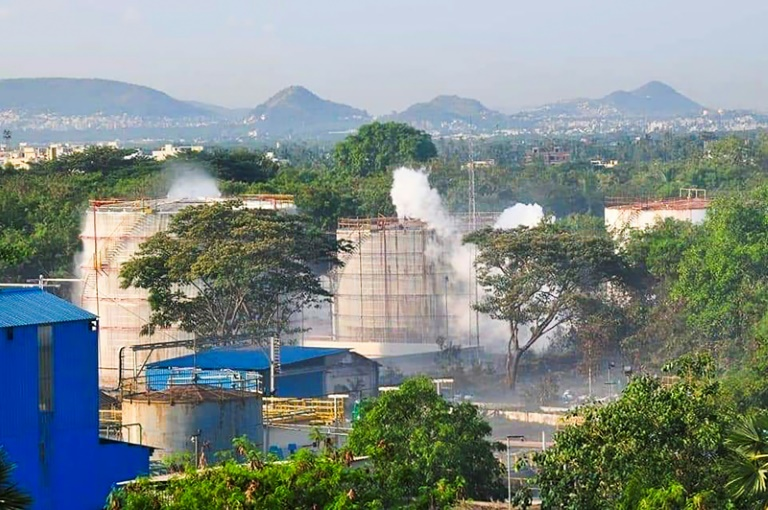 Gas leak at Indian chemical plant kills 11