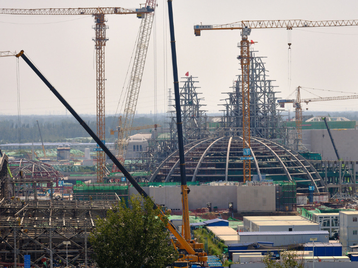 Universal Resort's river be completed in November