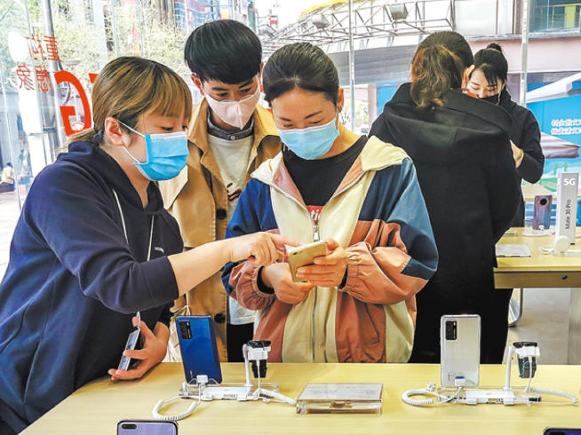 Rapid recovery seen for sales of electronic goods