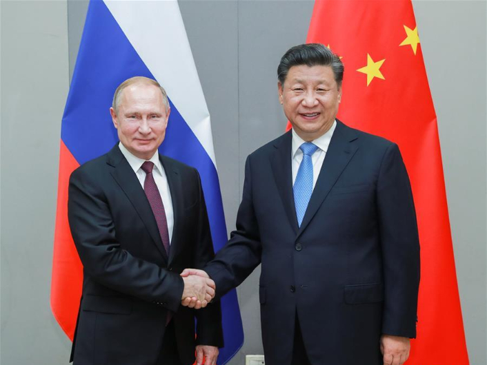 Xi, Putin talk over phone on 75th V-Day anniversary