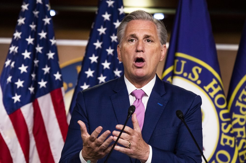 GOP leader names picks for US House panel overseeing virus aid