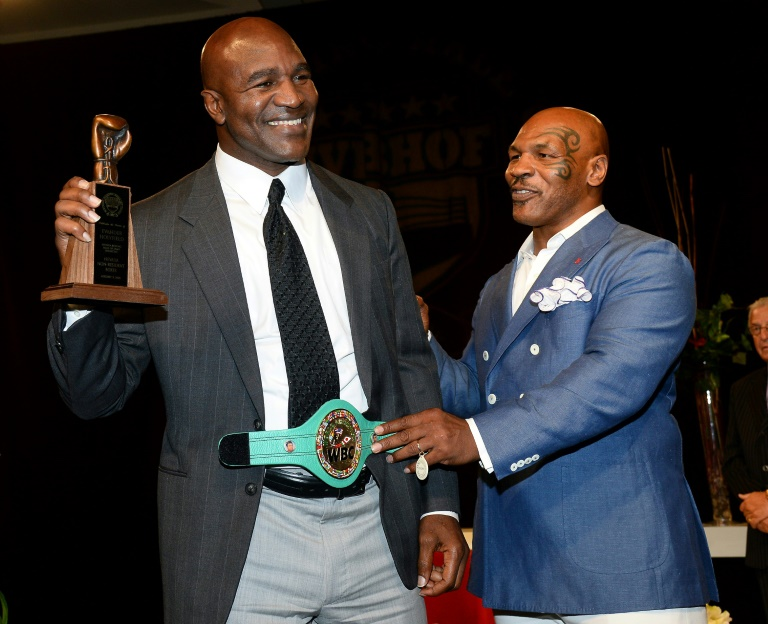 Holyfield makes charity comeback at 57 - could Tyson be next?