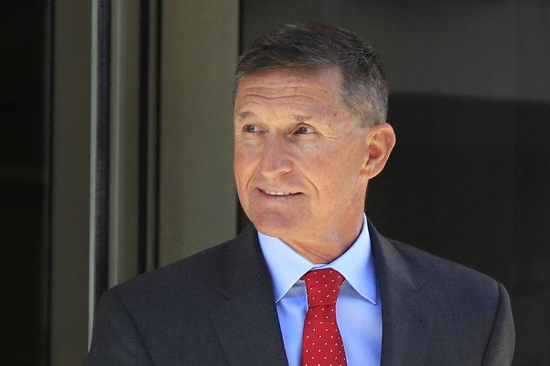 Trump praises Barr for dropping Flynn's Trump-Russia case