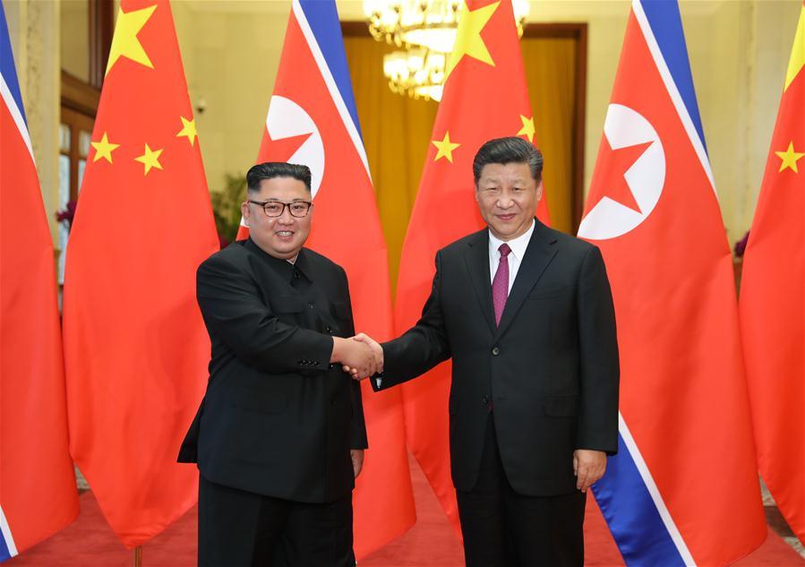 Xi, Kim exchange verbal messages