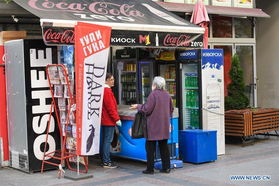 North Macedonia announces easing of restriction measures by allowing some retail businesses to resume operation