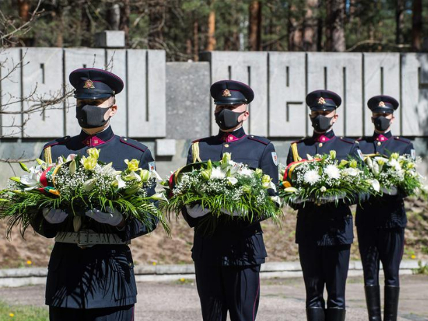 Lithuania marks 75th anniversary of World War II victory in Europe