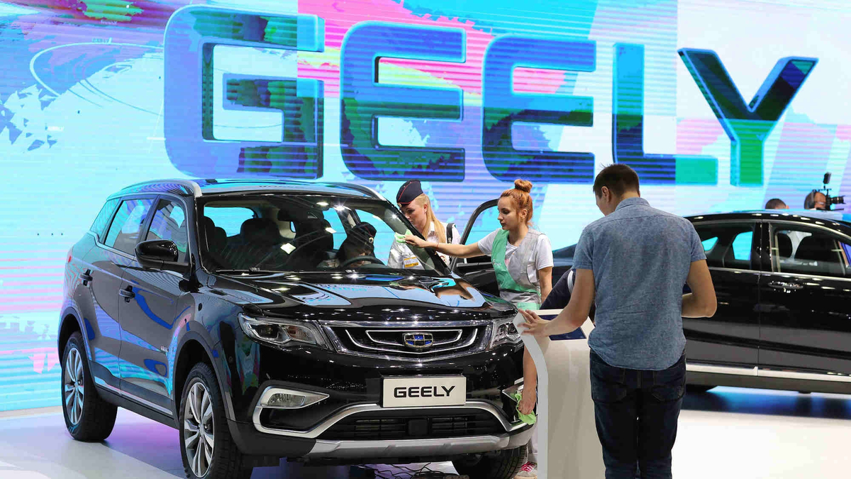 Chinese automaker Geely's car sales rebound in April