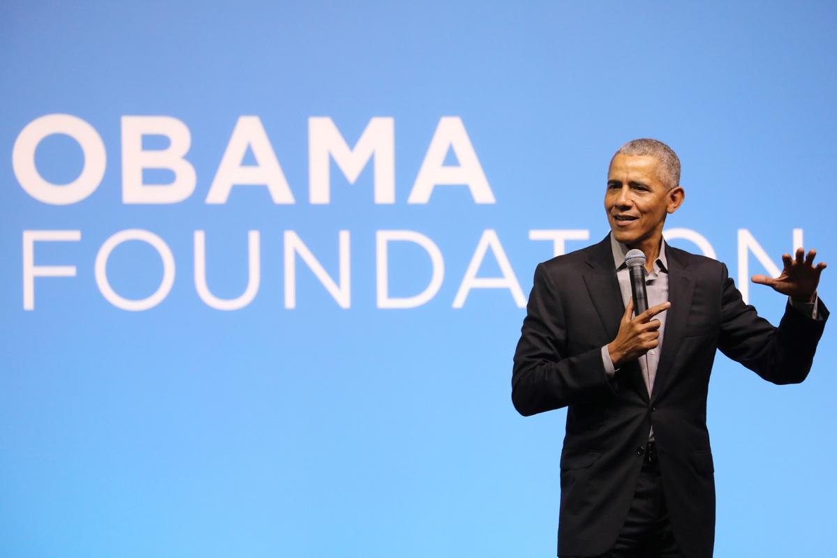 Slamming Trump's coronavirus response, Obama stresses urgency for Democrats to retake White House