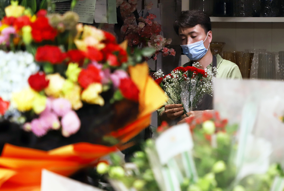 Flower sales blossom on Mother's Day