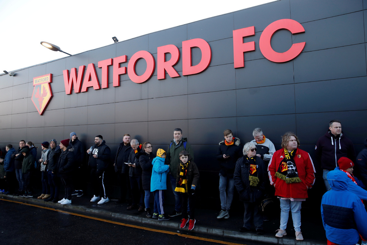 Watford oppose competing in neutral venues after Premier League restart