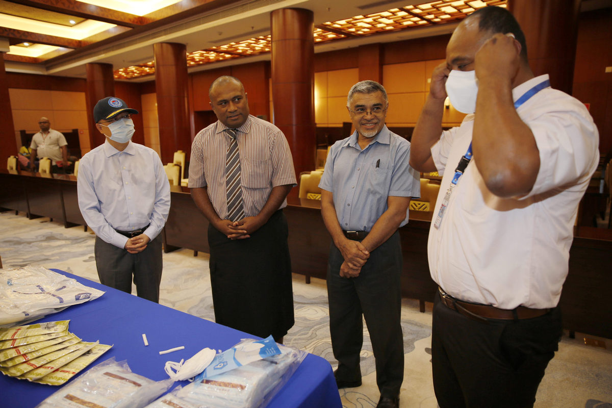 SE Asia, Pacific region receive medical supplies