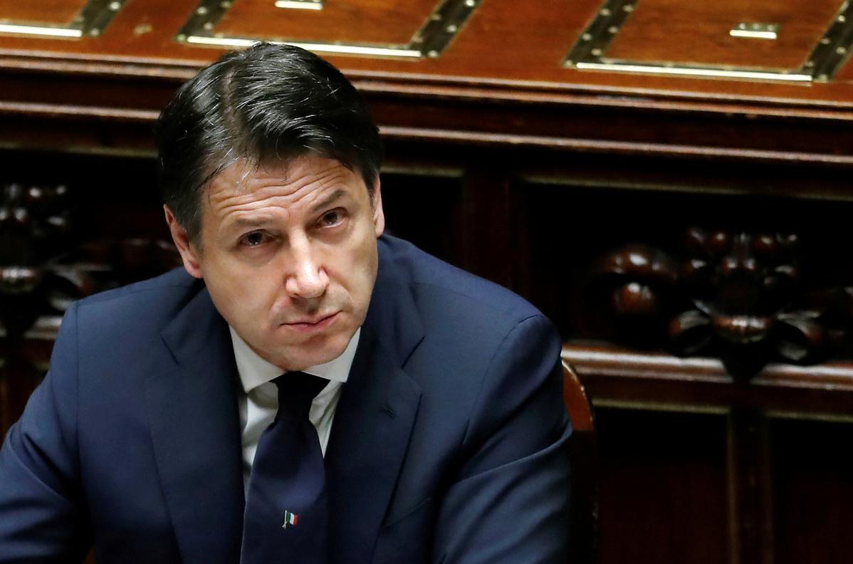 Italian PM strikes upbeat tone on coronavirus as data continues to improve