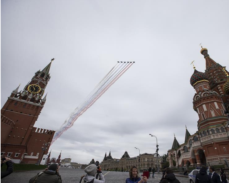 Russia accuses US of downplaying Soviet Union's role in World War II