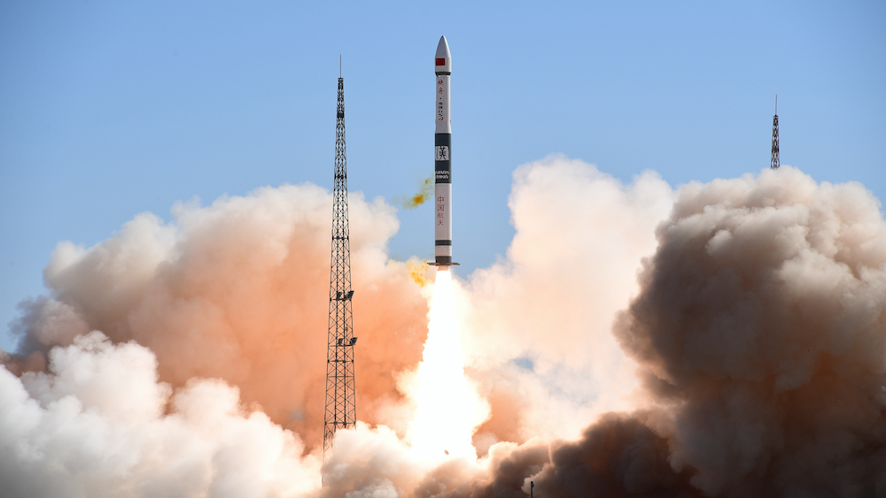 China launches first two communications satellites for IoT project