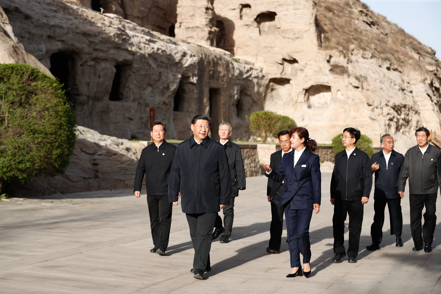 From the Mogao Grottoes to the Yungang Grottoes, Xi champions cultural relics protection
