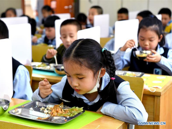 Xi'an resumes class for first to third grades of primary schools