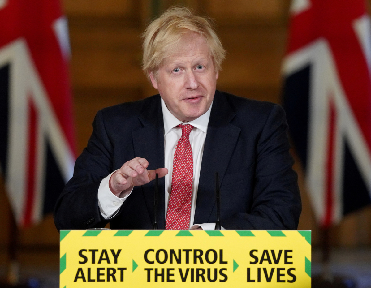 British govt releases roadmap plan for lifting UK social restrictions