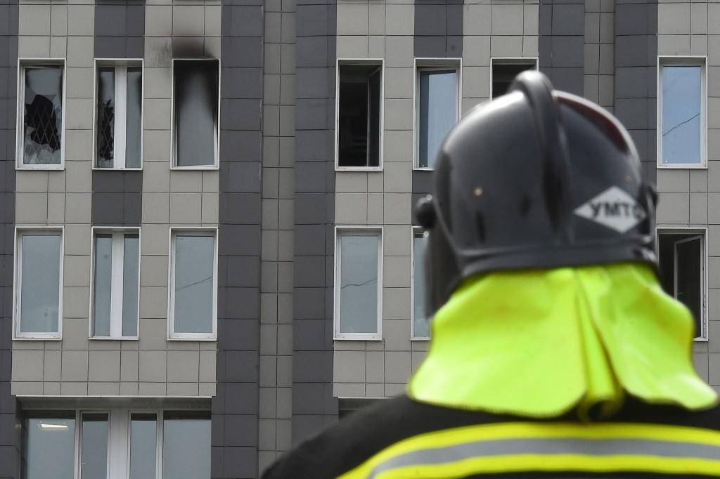 Five die in 'nightmare' fire at Russian virus hospital