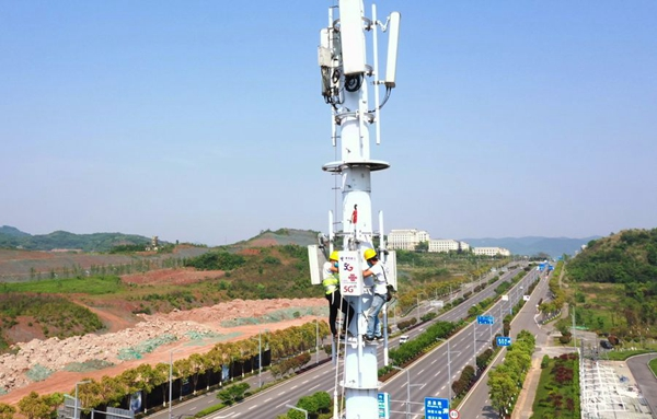 China has 198,000 5G base stations by March