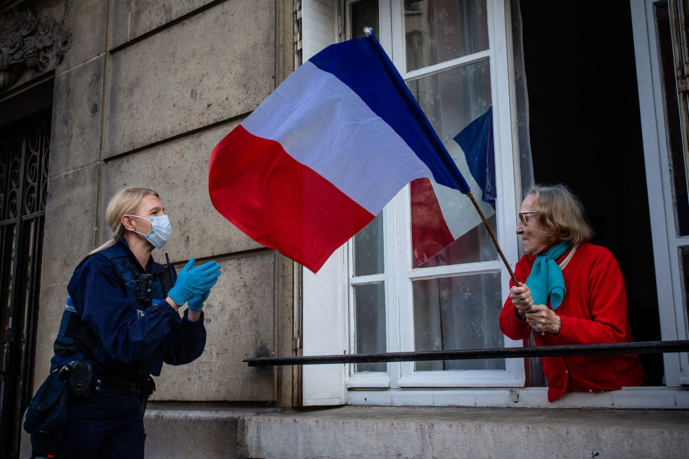 France becomes world's 4th worst-hit country with 26,991COVID-19 related deaths
