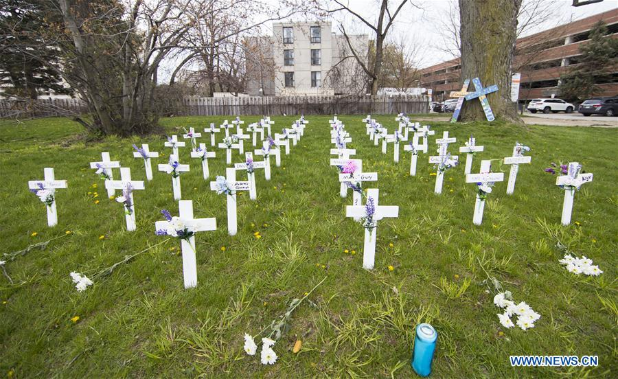 Canada records 71,100 COVID-19 cases, 5,167 deaths