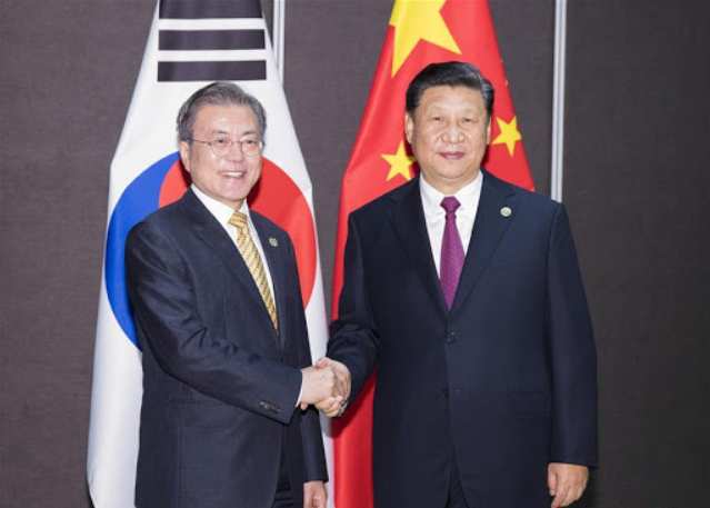 China-S. Korea cooperation against COVID-19 effective, exemplary: Xi