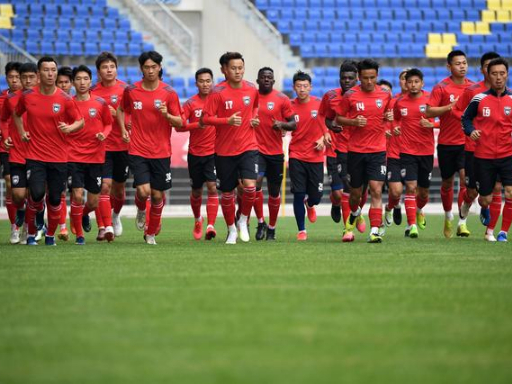 Chang'an Athletic starts training in Xi'an