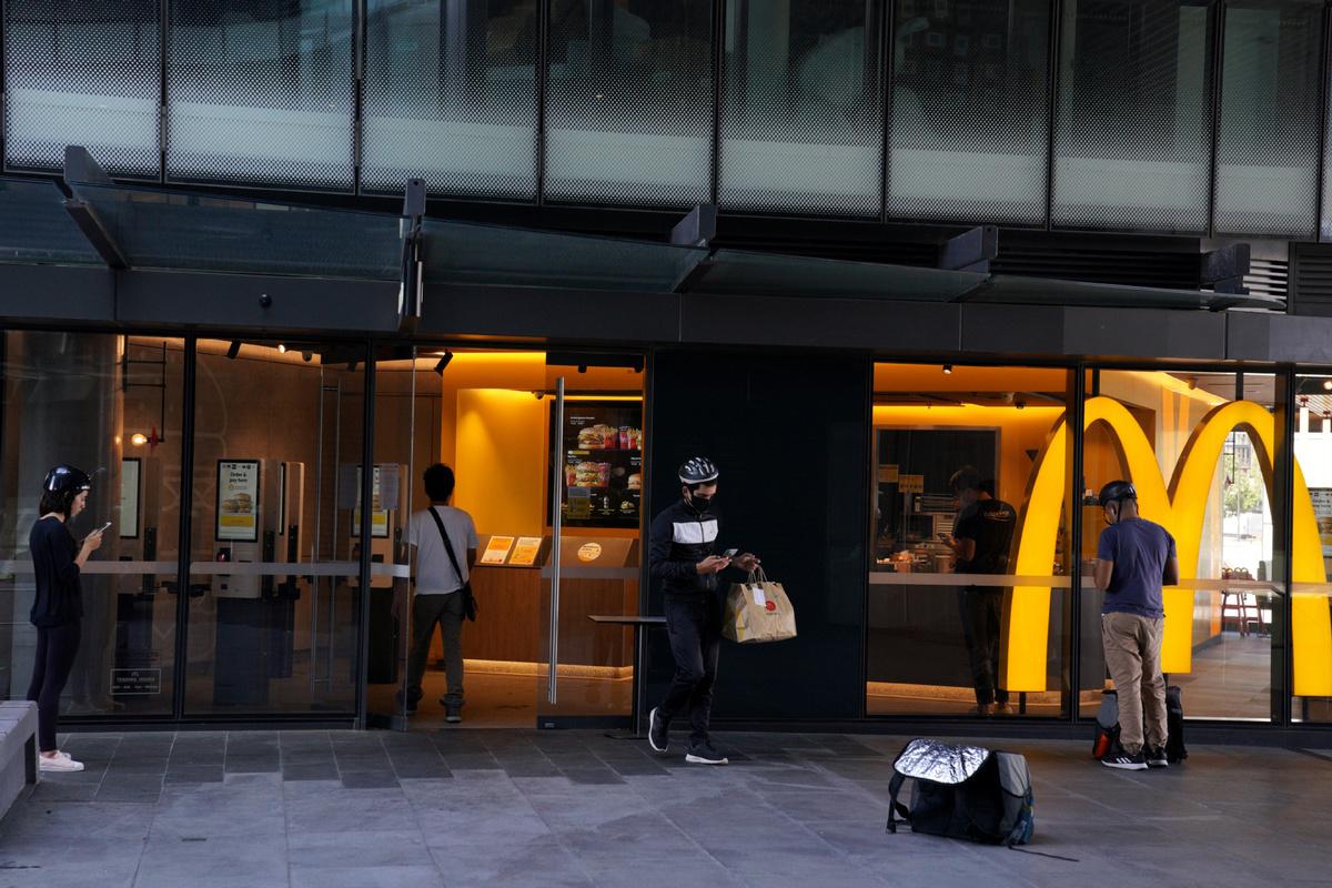 Australian health authorities investigate McDonald's COVID-19 cluster