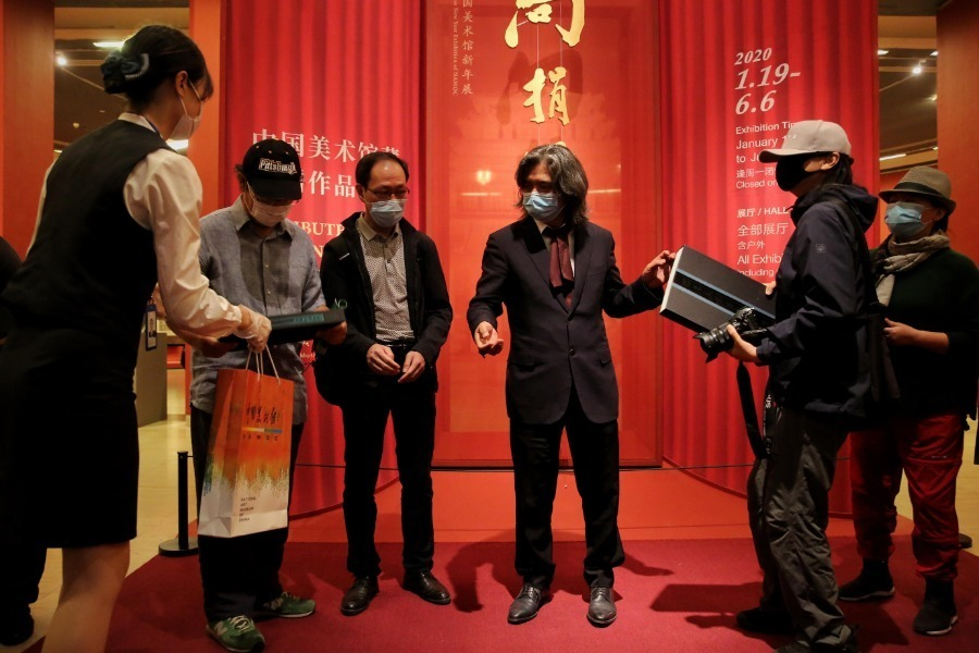 China's National Art Museum reopens with daily cap of 500 visitors